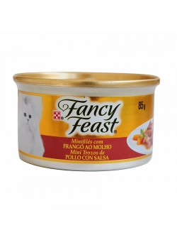 FANCY FEAST POLLO CON SALSA 85GR