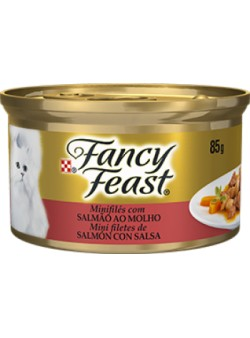 FANCY FEAST SALMON CON SALSA 85GR